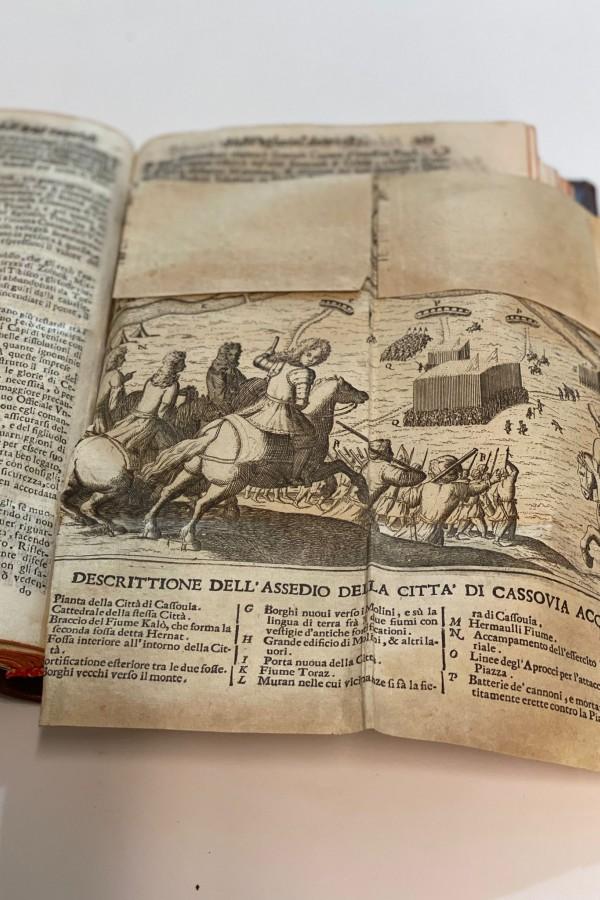 Historia Degl'Avvenimenti Dell'Armi Imperiali Contro Ribelli et Ottomani