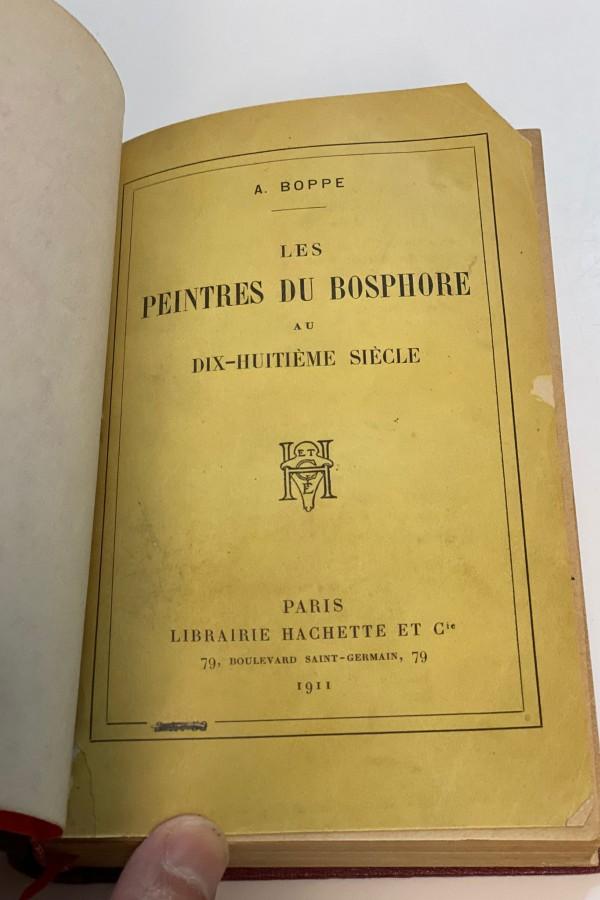 Les Peintres du Bosphore A. Boppe