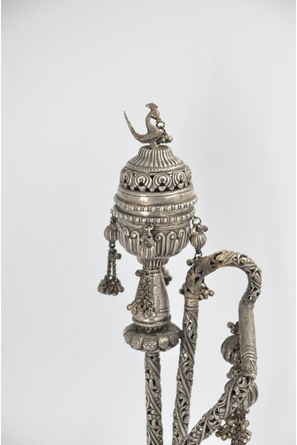 Osmanlı Dönemi Gümüş Nargile
