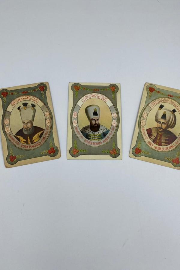 Osmanlı Padişah Kartpostalları
