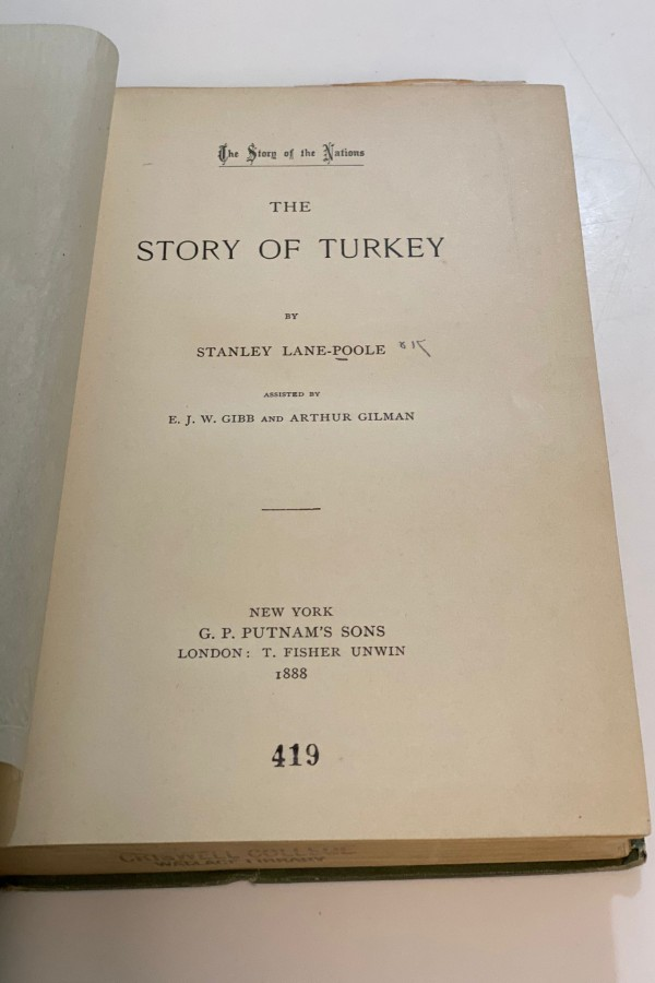 The Story of Turkey Stanley Lane-Poole