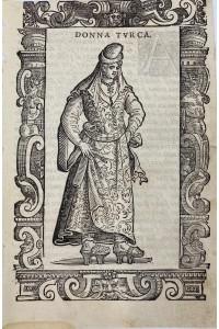 1590 Yılı Cesario Vecellio Gravür