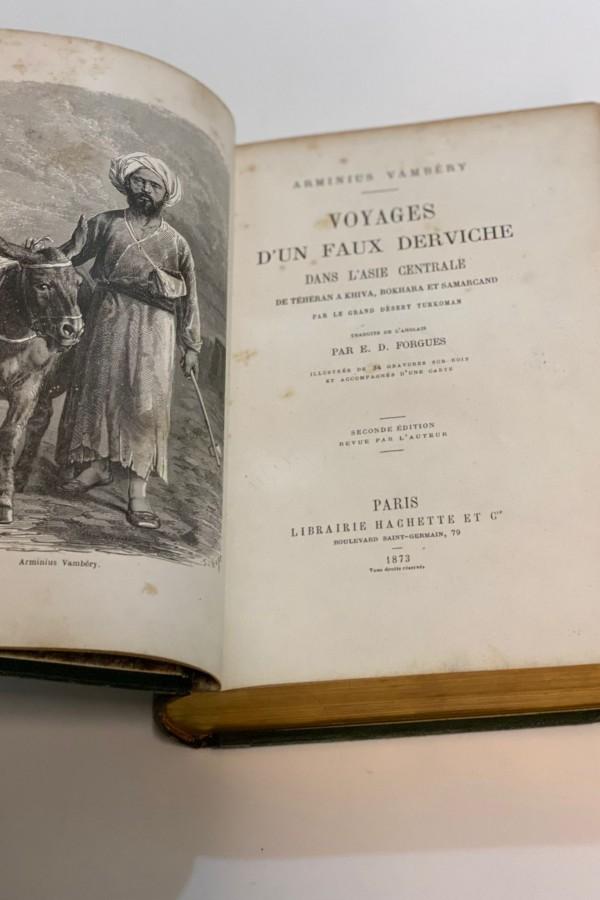 Voyages d'un Faux Derviche Arminus Vambery