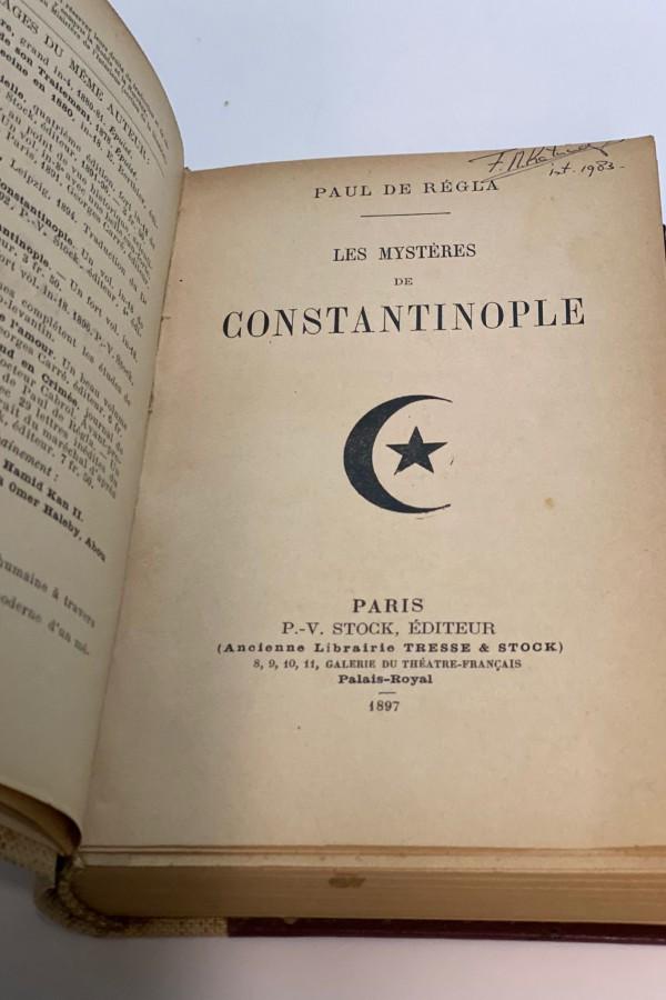 Les Mysteries de Constantinople Paul de Regla