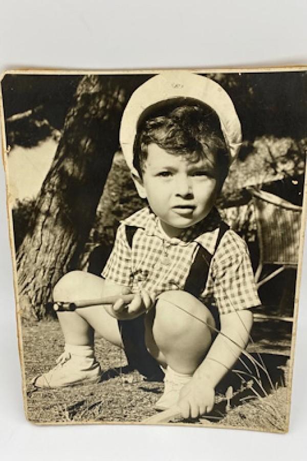 Zeki Müren Orijinal Çocukluk Fotoğrafı
