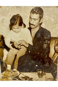 Yılmaz Güney ve Manevi Kızı Orijinal Fotoğraf